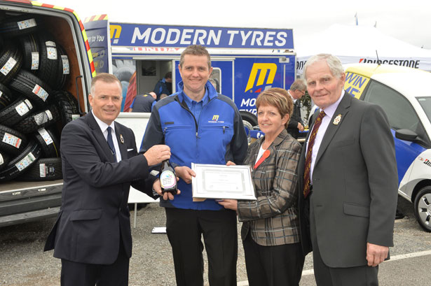 Modern Tyres Picks Up Award At Balmoral Agricultural Show Tyretrade Ie