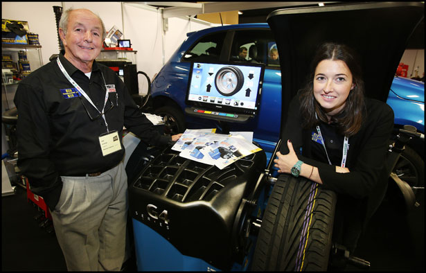 Tom Mc Nabb and Halina Mc Nabb from Wheelcare Ireland Ltd pictured at the Auto Trade Expo at CityWest.
