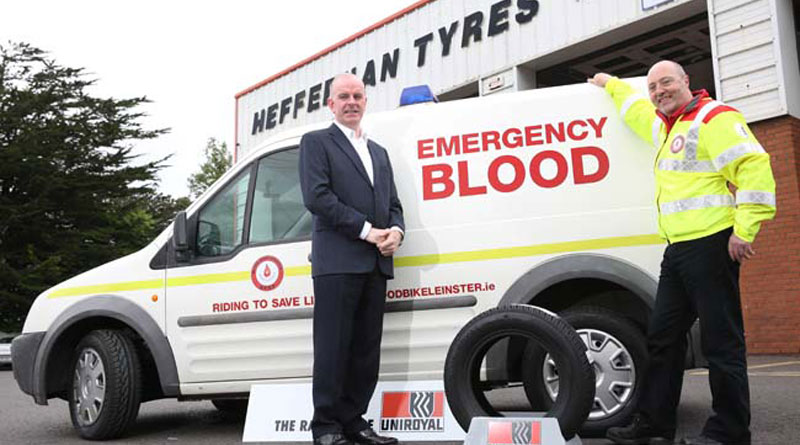 Uniroyal helps to keep Blood Bikes flowing freely