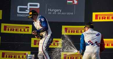 Victories for Parry and Albon in Pirelli-backed GP3 in Hungary