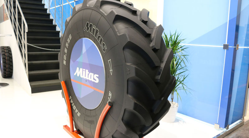 Mitas launches wheel loader tyre