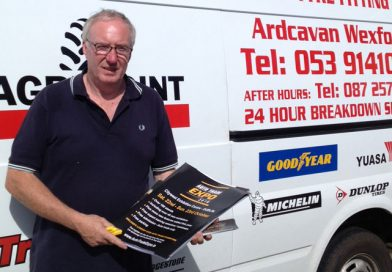 EXPO team visits tyre retailers in Wicklow & Wexford