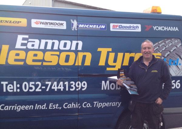 Eamon Gleeson, Eamon Gleeson Tyres, Cahir
